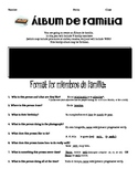 Project:  Album de familia (My 8th grade curriculum)