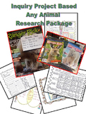 Common Core Project, Inquiry Based Any Animal Research Package