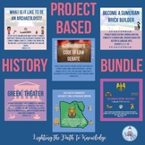 Project Based History Bundle (grades 6-8)