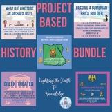 Project Based History Bundle (grades 6-8)