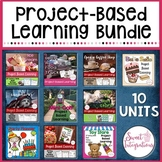PROJECT BASED LEARNING 10 Unit Bundle - Math, Technology, Writing, Research