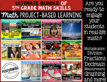 Project Based Learning 5th Grade Club BUNDLE: Resources, Course, and Support