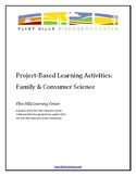 Project-Based Learning Activities - Family and Consumer Science