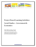 Project-Based Learning Activities - Social Studies - Gover