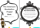 American Revolution: Project Based Learning Activity (Black & White)