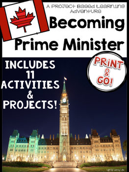Project Based Learning Activity: Becoming Prime Minister