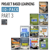 Project Based Learning Activity Bundle 10-Pack,  Part 3  (PBL)