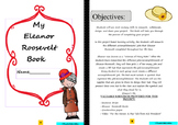 Eleanor Roosevelt: Project Based Learning Activity  (Black/White)