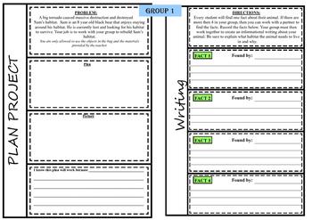 Habitats: Project Based Learning Activity *FREEBIE*