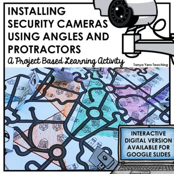 Project Based Learning Activity Installing Security Cameras PBL Activity Math