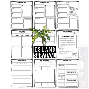 Project Based Learning Activity:  Island Survival   (PBL)