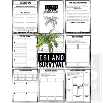 Project Based Learning Activity: Island Survival (PBL) Now for Google Classroom