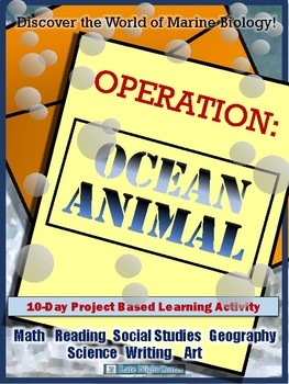 Project Based Learning Activity- Ocean Animals - Marine Biology