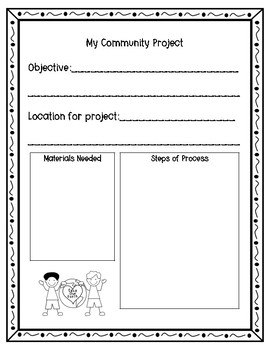 Project Based Learning Activity for Earth Day