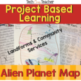 Project Based Learning: Alien Planet Map