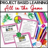 Design a Board Game Project Based Learning Activity | STEM