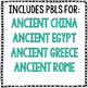 Project Based Learning: Ancient Civilizations for Google Drive PBL BUNDLE