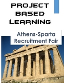 Project Based Learning: Ancient Greece Athens-Sparta PBL