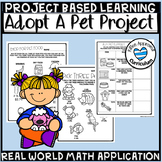 Adopt A Pet Project Based Learning Math 5th Grade PBL