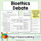 Project Based Learning Bioethics Debate PBL Genetics Evolu