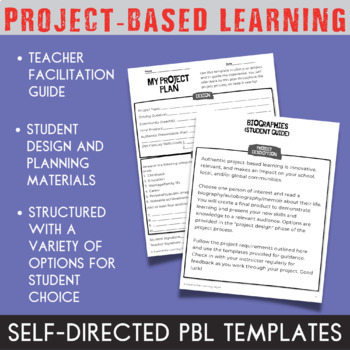 Project-Based Learning: Biography Project (for advanced PBL learners)
