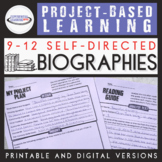 Project-Based Learning: Biographies {Google Classroom™ Dis