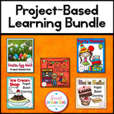 PROJECT BASED LEARNING MATH BUNDLE With Writing and Research