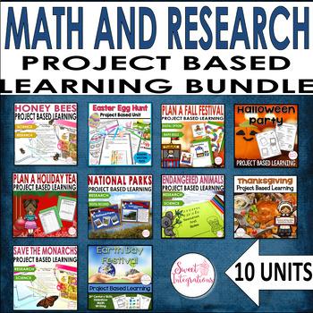 PROJECT BASED LEARNING 10 Unit Bundle #2