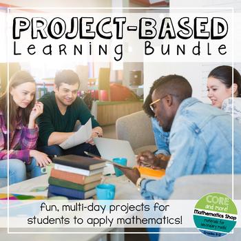 Project-Based Math Learning Bundle