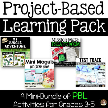 Project-Based Learning Bundle: 4 PBL Experiences for Grades 3-5