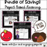 Distance Learning Project Based Learning Bundle