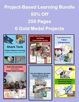 Project Based Learning Bundle 6 Units for 50% Off GATE