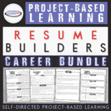 College Career Ready Bundle: PBL Resume Builders for High