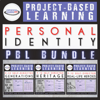 Project-Based Learning Bundle: Personal Identity