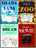 Project Based Learning Bundle: Shark Tank, Direct a Movie, and more!
