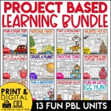 Project Based Learning Bundle for the Year PBL PRINT & DIGITAL