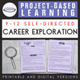 Career Exploration Project Based Learning {Printable and D
