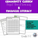 Project Based Learning Community Garden Math, Language and Arts Project