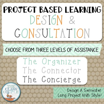 Project Based Learning: Planning & Organization Session