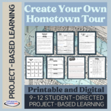 Project-Based Learning: Hometown Tour {Printable and Digit