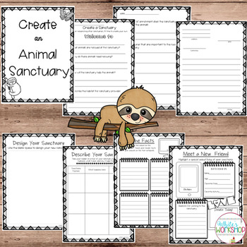 Project Based Learning: Create an Animal Sanctuary