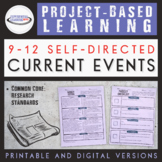 Project-Based Learning: High School Current Events {Printa