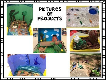 Project Based Learning - Digging Up Dinosaurs