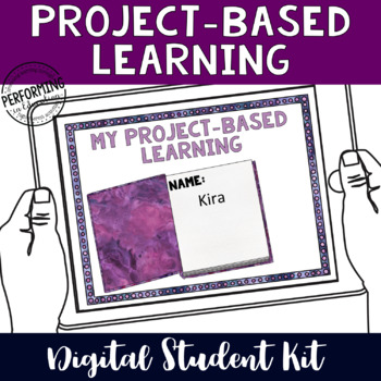 Project-Based Learning Digital Organizers for Google Classroom Student Kit
