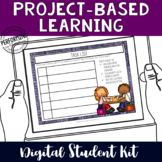 Project-Based Learning Digital Organizers for Google Class