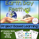 Earth Day Activities | Design, ELA, and Math | PROJECT BASED LEARNING SCIENCE