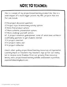 Project-Based Learning: Endangered Species (for mid-level PBL learners)