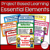 PROJECT BASED LEARNING Essential Elements Posters