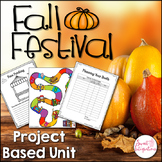 PLAN A FALL FESTIVAL PROJECT BASED LEARNING MATH | STEM |