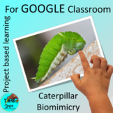 Project Based Learning GOOGLE Classroom™, Caterpillar, Dig